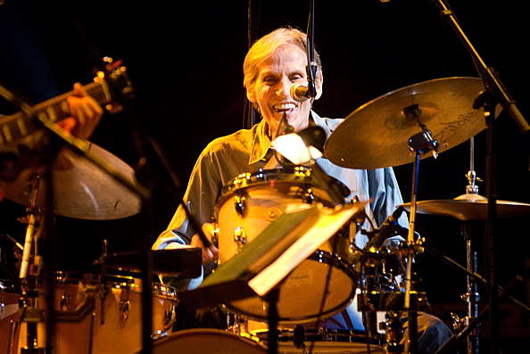Drummer and singer Levon Helm