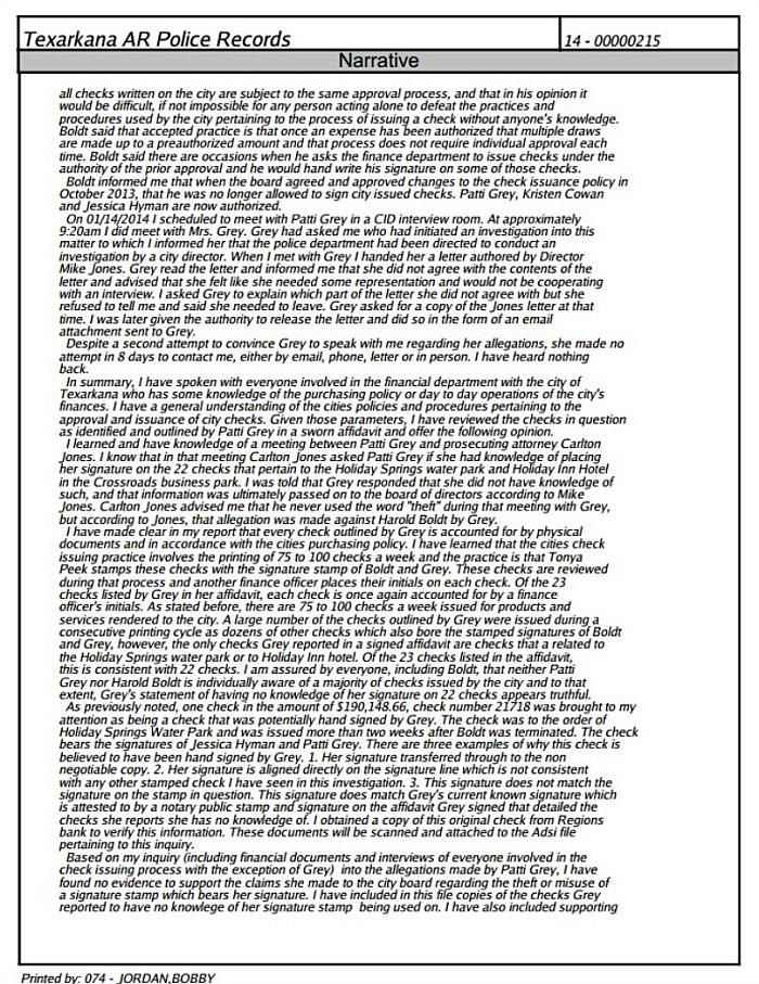 Page three redacted