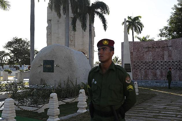 Fidel Castro's Ashes Buried In Santiago De Cuba
