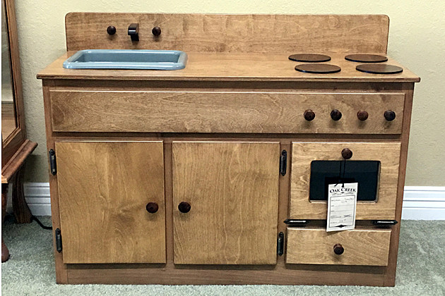 Seize The Deal Auction Child s Playtime Kitchen From Oak