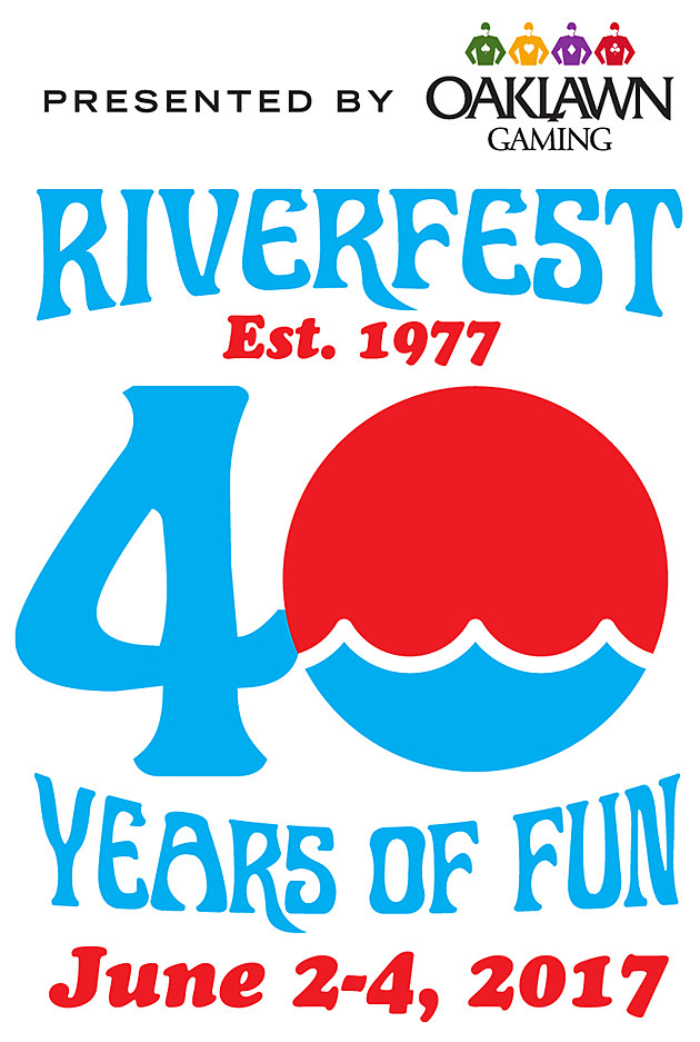 RVR 40th logo with date